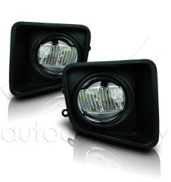 details about for 14 18 toyota tundra fog lights w wiring kit cree fog lamps clear [ 1000 x 1000 Pixel ]