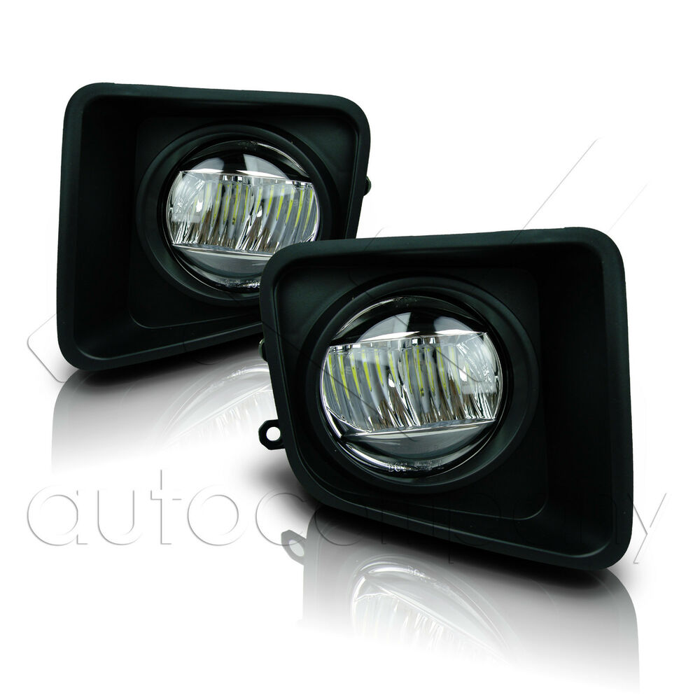 medium resolution of details about for 14 18 toyota tundra fog lights w wiring kit cree fog lamps clear