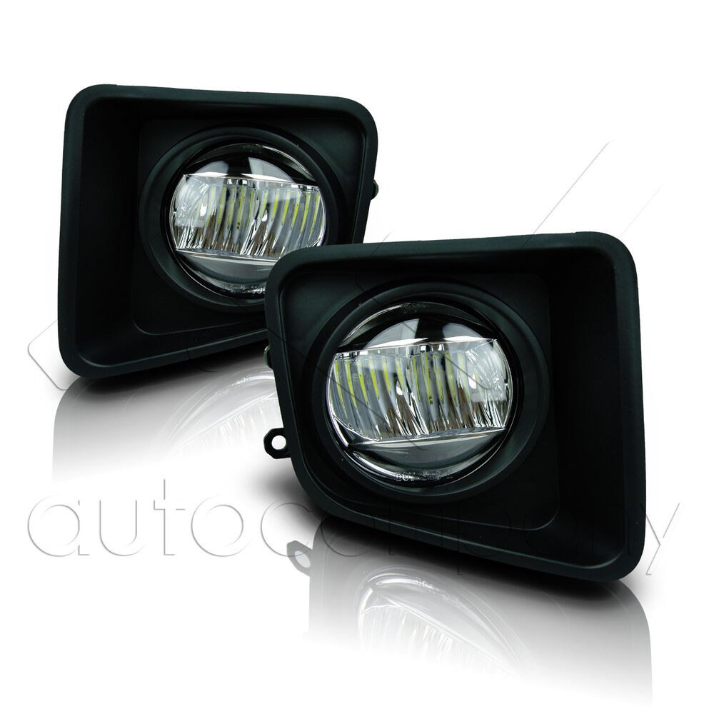 hight resolution of details about for 14 18 toyota tundra fog lights w wiring kit cree fog lamps clear