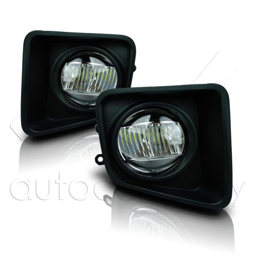 small resolution of details about for 14 18 toyota tundra fog lights w wiring kit cree fog lamps clear
