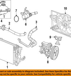 details about fiat oem 16 18 500x engine coolant thermostat housing 5047861ac [ 1000 x 804 Pixel ]