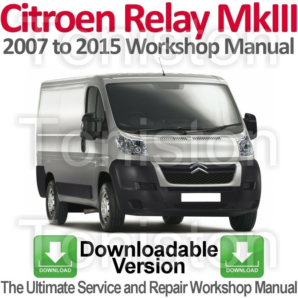 hight resolution of citroen relay jumper 2007 to 2015 workshop service and repair manual download ebay