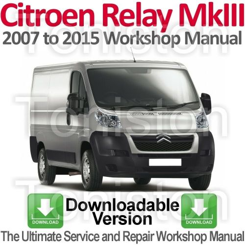small resolution of citroen relay jumper 2007 to 2015 workshop service and repair manual download ebay