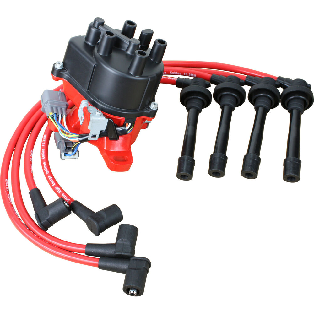 hight resolution of details about high performance ignition distributor and wires for 1992 1995 honda civic vtec