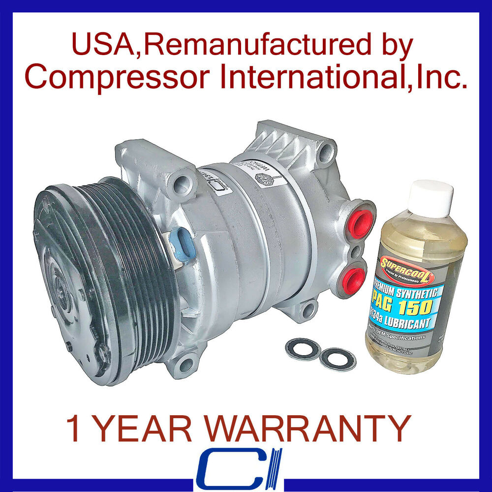 hight resolution of details about 96 99 tahoe 97 98 s10 4 3l 96 98 sonoma 4 3l 96 99 yukon reman a c compressor