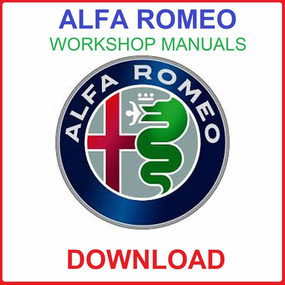 hight resolution of details about alfa romeo workshop service manuals download