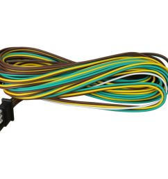 details about 25 4 way trailer wiring connection kit flat wire extension harness boat car rv [ 1000 x 1000 Pixel ]