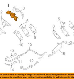 details about nissan oem 99 04 frontier exhaust manifold 140044s103 [ 1000 x 798 Pixel ]