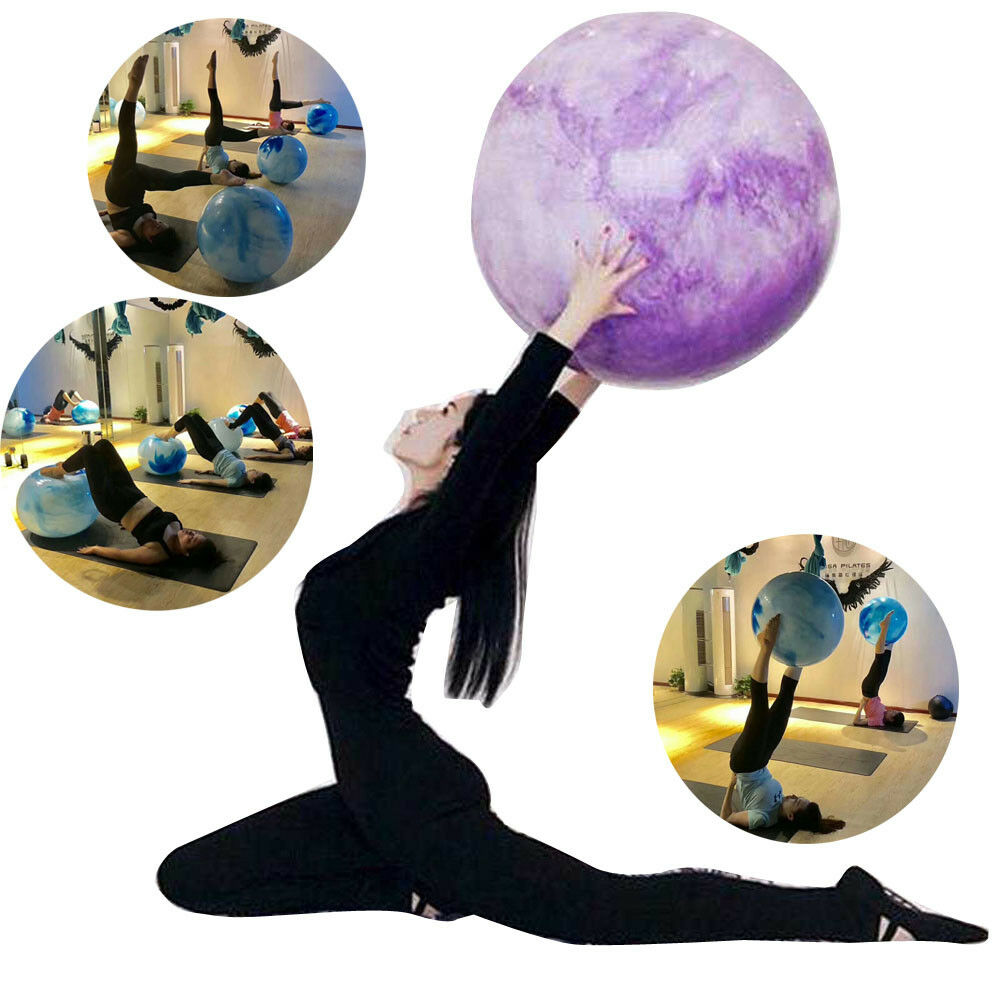 Pilates Ball Chair Multiple Color Birthing Yoga Exercise Ball With Quick Pump Heavy Duty Ball Chair Ebay