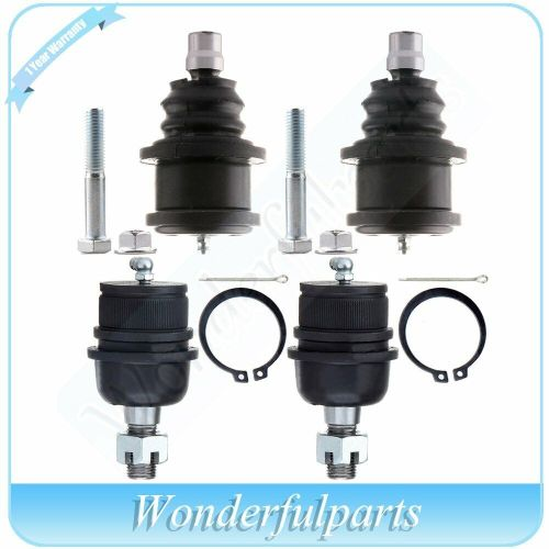 small resolution of details about suspension 4x front lower upper ball joints for 1995 2001 ford explorer 2wd 4wd