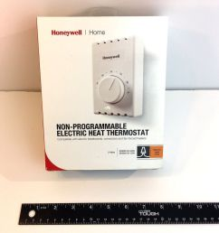 details about honeywell ct410a manual thermostat single pole 2 wires electric heating white [ 1000 x 1000 Pixel ]
