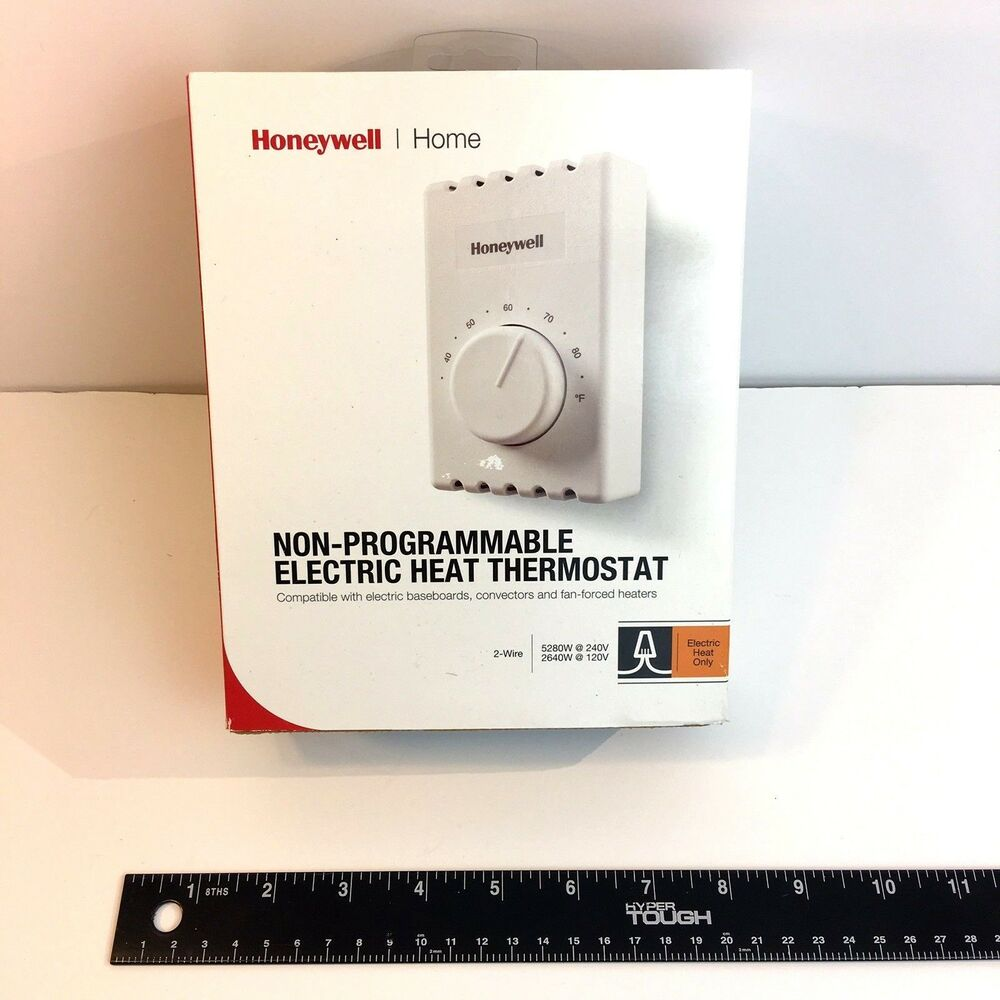 medium resolution of details about honeywell ct410a manual thermostat single pole 2 wires electric heating white