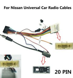 details about car stereo 20pin wiring harness connector android power cable harness for nissan [ 1000 x 1000 Pixel ]