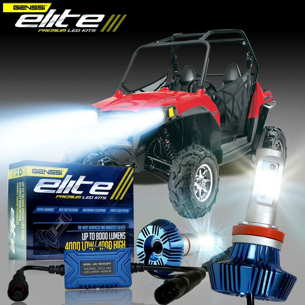 medium resolution of details about led bulbs headlights polaris ranger rzr 570s 800s 900s 1000 xp light 100w p1