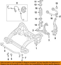 details about jeep chrysler oem 05 10 grand cherokee front suspension shock absorber 5135573aj [ 928 x 1000 Pixel ]