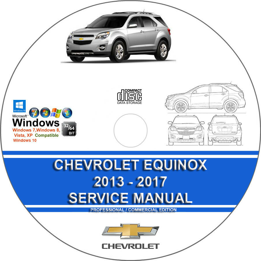 hight resolution of details about chevrolet equinox 2013 2014 2015 2016 2017 service repair manual on cd
