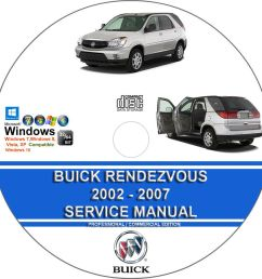 details about buick rendezvous 2002 2007 service repair manual and wiring diagrams on cd [ 904 x 904 Pixel ]