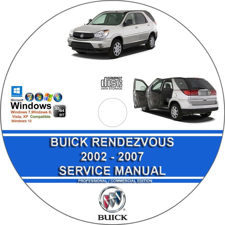 medium resolution of details about buick rendezvous 2002 2007 service repair manual and wiring diagrams on cd