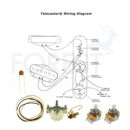 small resolution of details about wiring kit for telecaster electric guitar switchcraft cts pots crl 3 way