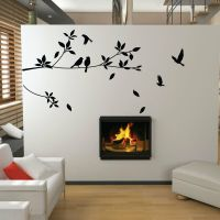 Tree and Bird Wall Stickers Vinyl Art Decals | eBay