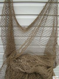 Authentic Used Fishing Net ~ Old Vintage Fish Netting ...