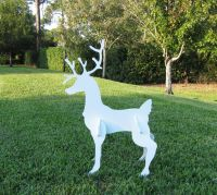 Christmas Outdoor Reindeer - Yard Art Christmas Deer | eBay