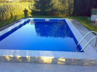 Pool Set Rechteck Becken 3x6 x1,50m Pool 0,8 mm Folie ...
