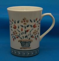 Nice Handpainted Floral Porcelain Coffee Mug Tea Cup | eBay