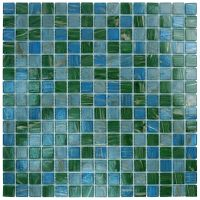 Glass Tile MKGVB2 Blue Green Copper Kitchen Backsplash ...