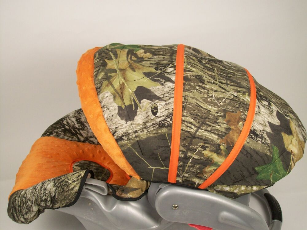 GRACO SnugRide INFANT CAR SEAT COVER ~Mossy Oak Real tree