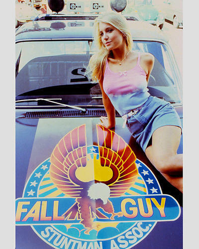Heather Thomas As Jody Banks In The Fall Guy 24x30 Poster