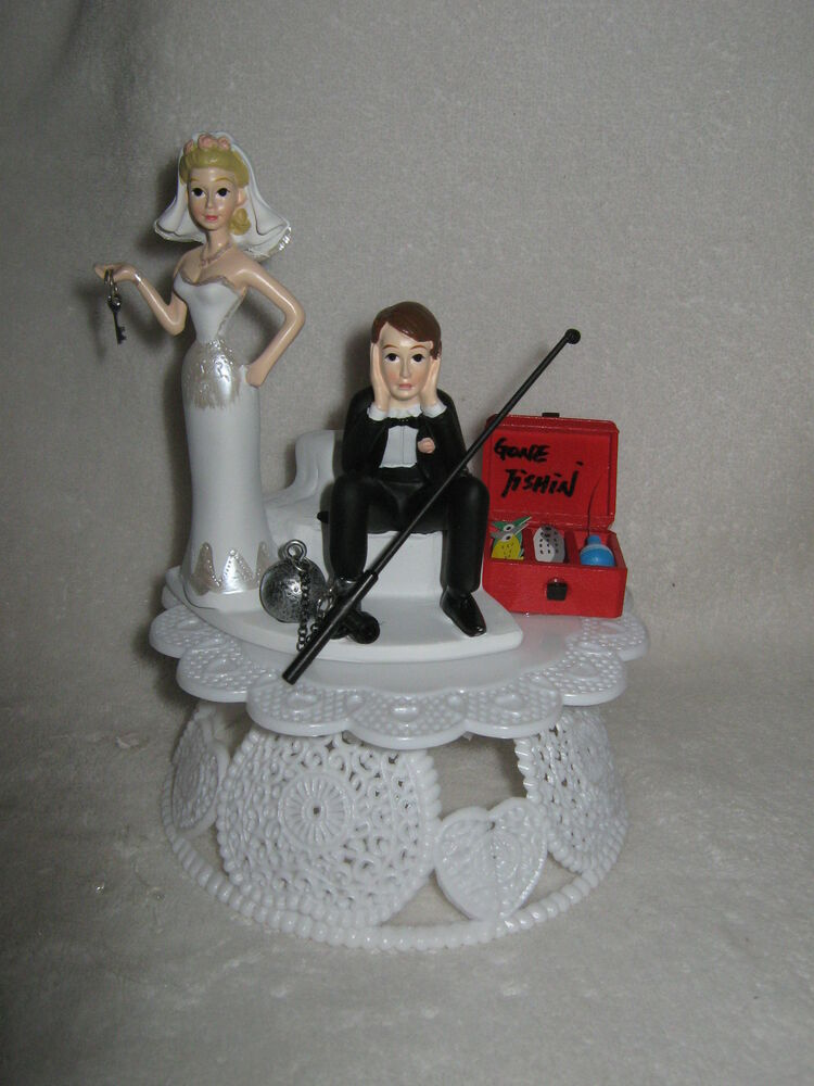 Wedding Reception Party No Fishing Cake Topper Ball