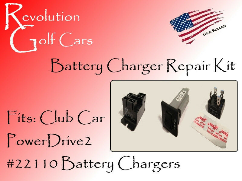For Club Car 36 Volt Wiring Diagram Free Picture Battery Charger Repair Kit Fits Club Car 48 Volt