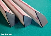PRO POCKET k55 RAILS FOR VALLEY POOL TABLE DIAMOND | eBay