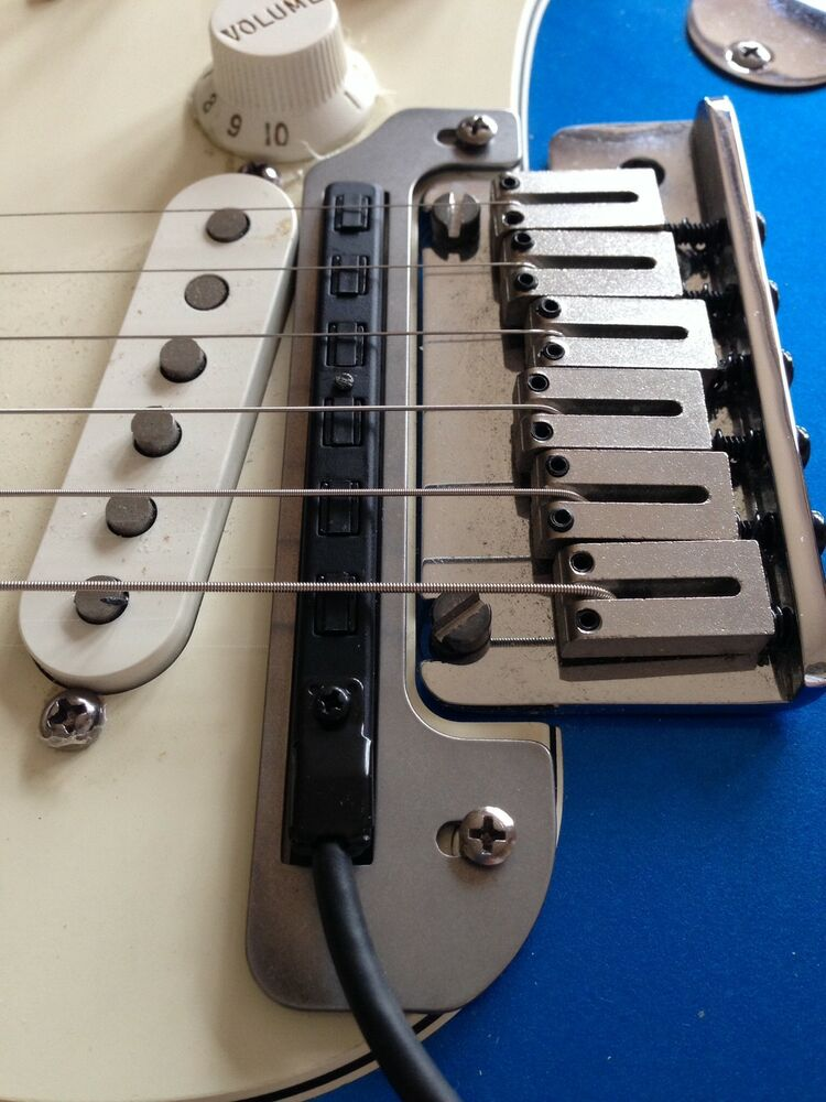 7 Way Wiring Guitar Roland Gk 2a Gk 3 Pickup Mounting Plate For Strat Ebay