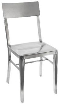 Stainless Steel Restaurant Chair Wholesale Patio NEW Cafe ...