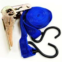 2 Tie Down Straps /Roof Rack Luggage Load Securing Straps ...
