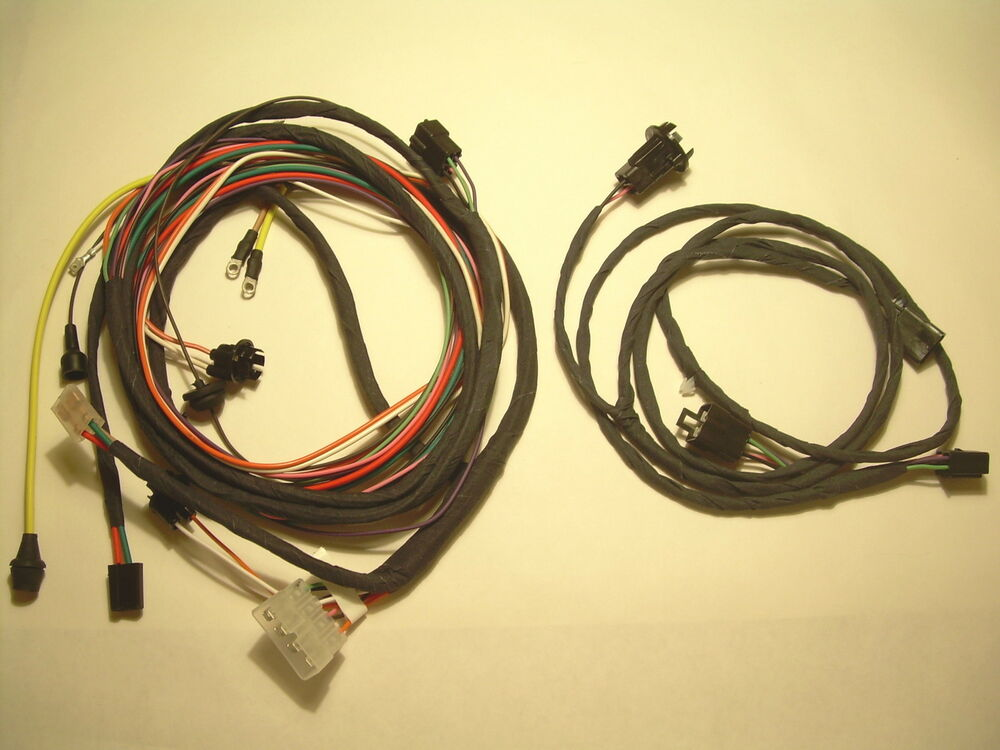 Impala Convertible Rear Light Wiring Harness Front