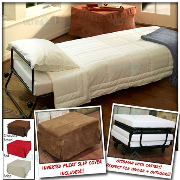 Ottoman Folding Bed with Cover