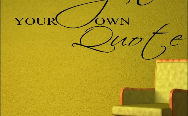 Extra Large Create Your Own Wall Quote Your Custom Design