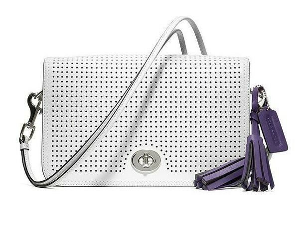 Coach 23404 Legacy Perforated Leather Penelope Penny