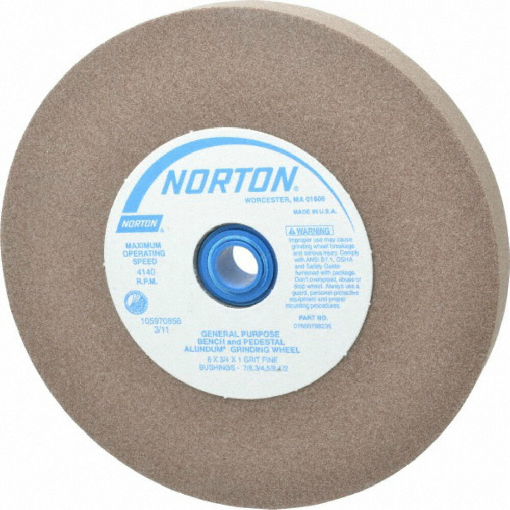 Norton 5 Quot Wheel 100 Grit Sharpening Wheel Fits Twice