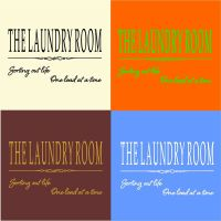 The Laundry Room - fun / funny / wall art decal vinyl ...