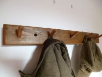 Coat rack, Coat pegs, coat hooks, towel rack, wooden pegs