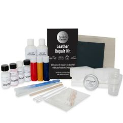Vinyl Chair Repair Kit Floating High Red Leather Sofa & For Tears Holes Scuffs And Colour Dye | Ebay