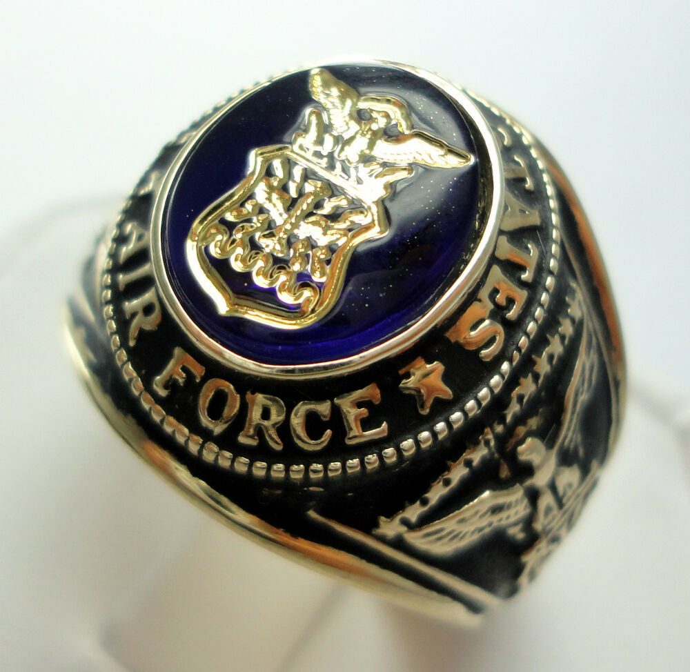Vintage United States Air Force Ring Size 11 EBay