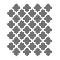 Moroccan Stencils - small scale - For Crafting Canvas DIY ...