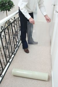 Carpet & Stair Floor Protection Protector Film - pick your ...