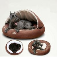 New Half Covered Pet Dog Cat Bed Sleeping Bag House Roof