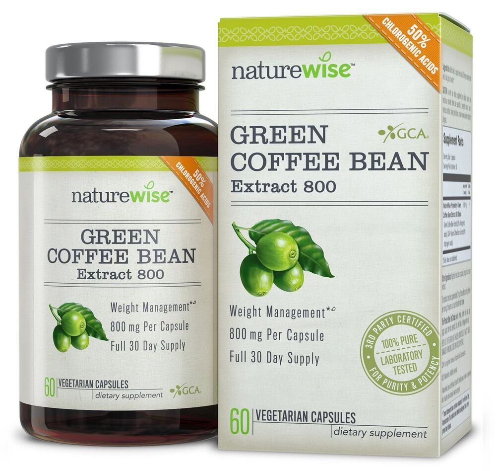 green coffee bean extract gca natural weight loss supplement usa made